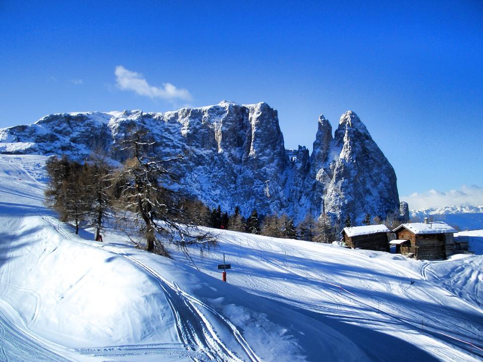 Winterlandschaft Berge
