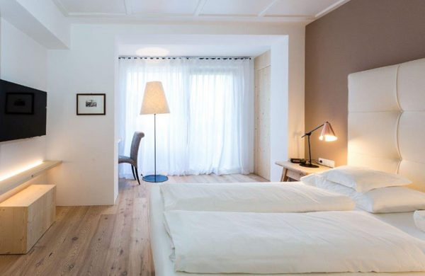 Hotel Mayr Deluxezimmer Doppelbett
