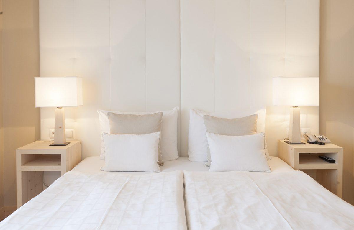 Hotel Mayr Komfortzimmer Doppelbett