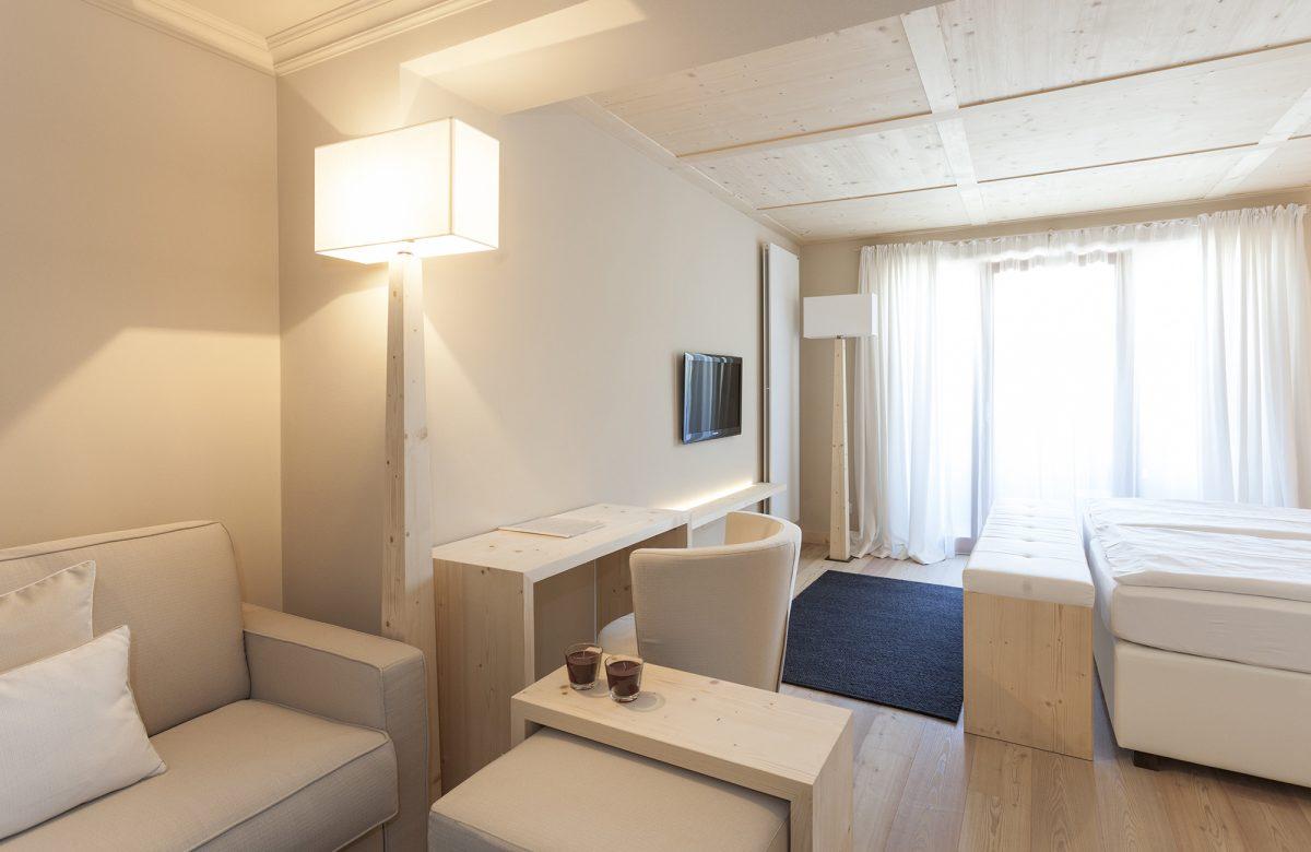 Hotel Mayr Komfortzimmer Wohnbereich