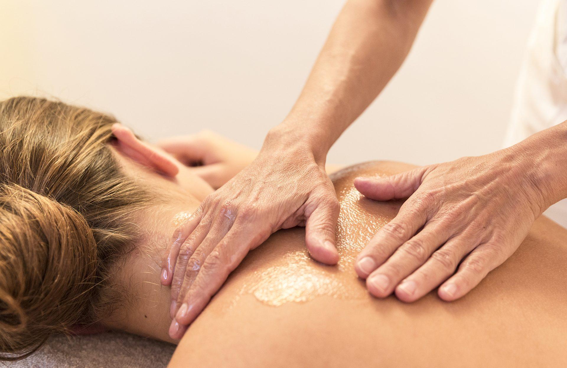 Wellness-Hotel Mayr Südtirol Massage Nahaufnahme