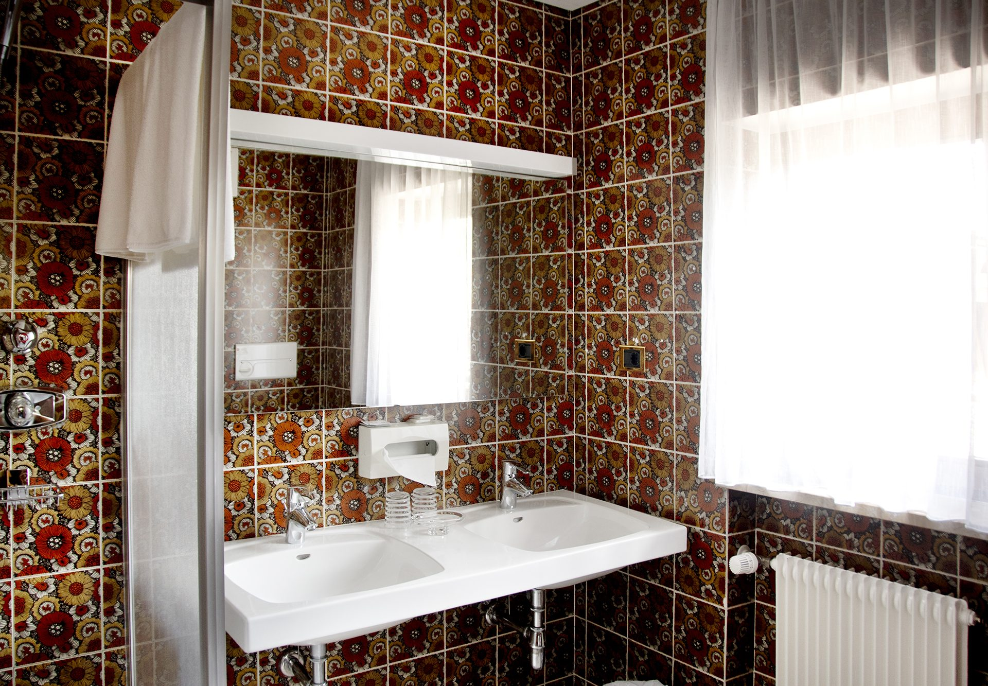 Bagno del Residence Mayr