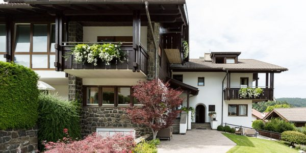 Area d'ingresso del Residence Mayr Alto Adige