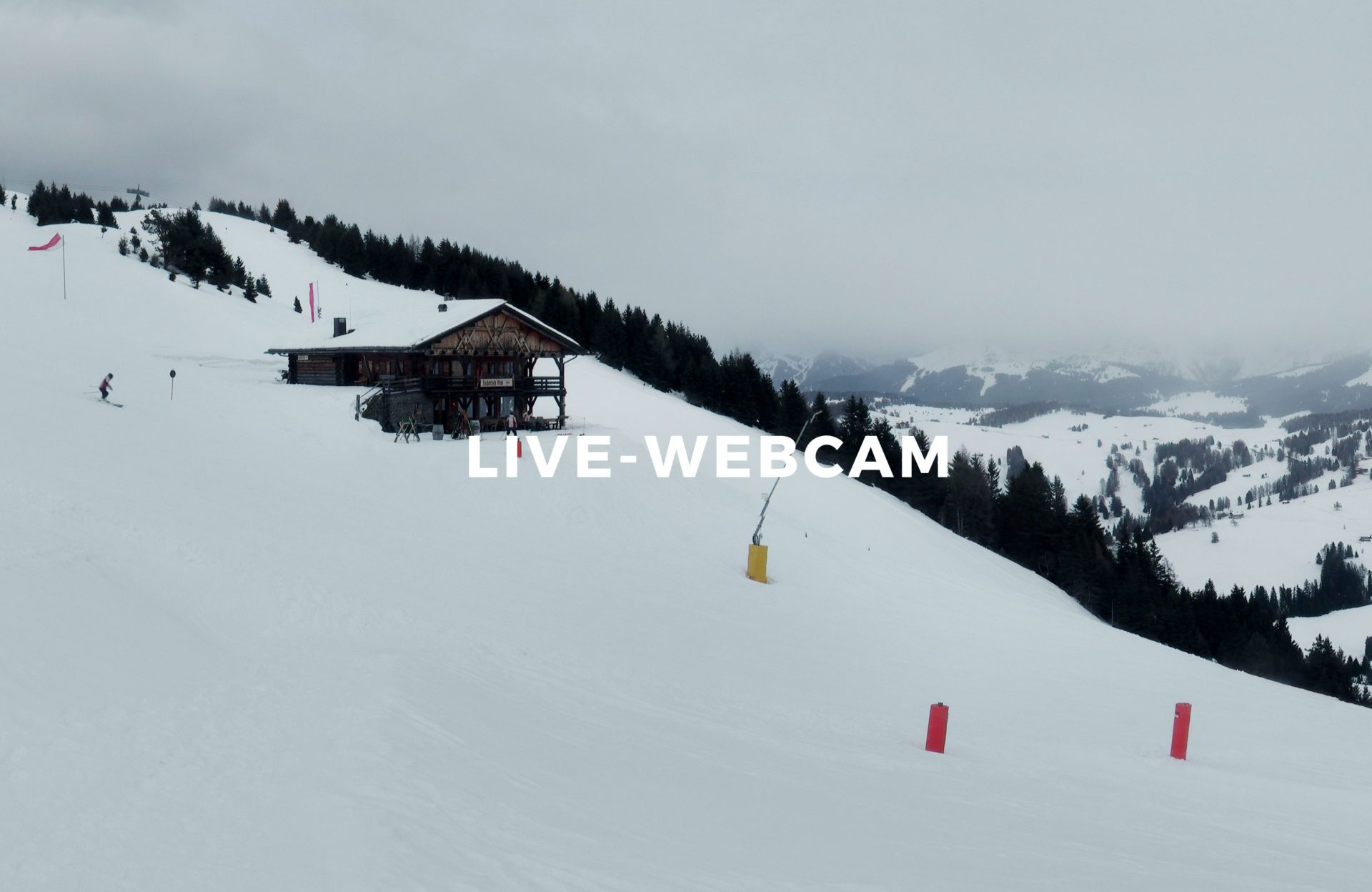 Live-Webcam Seiser Alm Winter